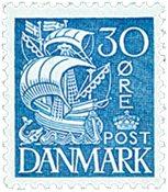Danmark  stålstik AFA 215