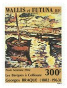 Wallis PA115 * 300 fr Georges Braque 1982