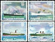 Polynesien - YT 124/27 - Postfrisk