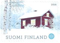 Finland - Jul 2016 hytte - Postfrisk frimærke