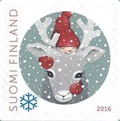 Finlande - Noël 2016 Renne - Timbre neuf