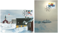 Greenland - Christmas 1995 maxi card