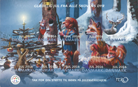 Denmark - Christmas 2016 - Mint souvenir sheet