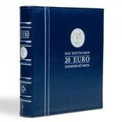 Fortryksalbum 'Deutsche 20-Euro-erindringsmønter' - Bind 1 - inkl. Kassette