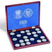 VOLTERRA møntkassette til 30 tyske 20-Euro erindringsmønter