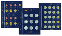 coin sheets VISTA, for German10/20/25-Euro commemorative coins
