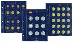 Feuilles Numismatiques VISTA,pour pièces commémoratives allemandes de 10/20