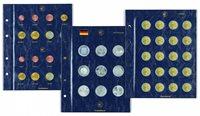 Feuilles numismatiques VISTA pour pièces commémoratives allemandes de 5 eur