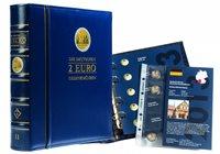 Album til tyske 2-Euro Erindringsmønter - inkl albumsider 2014 2016 - Bind