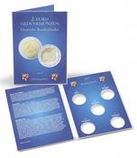 Carte pour les 5 pièces de 2 euros allemandes commémoratives de Rhénanie-Palatinat (2017)