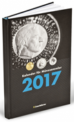 Calendar for coin collectors 2017, German