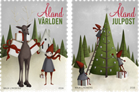 Åland - Noël 2016 - Timbre neuf - Timbre neuf