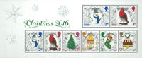 2016 圣诞节 小全张 新邮 外国邮票 邮票收藏 圣诞礼品