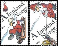 Norge - Julen 2016 - Postfrisk sæt 2v