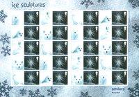 England - Julen 2003 - Flot ark P frimærker