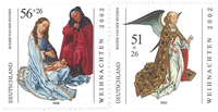 Allemagne - Noël 2002 - Série neuve 2v