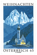 Austria - Advent 2009 - Mint stamp