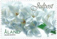 Åland - Julen 2011 - Postfrisk frimærke