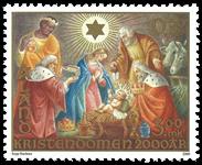Åland - Kristendom - Postfrisk frimærke