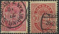 Danmark - 1886-95