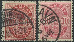Danmark - 1885-86