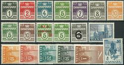 Danmark - Parti - 1933-38