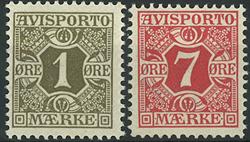 Danmark - Avisporto - 1907