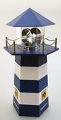 Leuchtturm fyrtårn - kan dreje rundt og lyse - Med  adapter