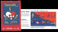 DK Julehæfte 1999 10 mærker