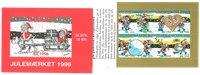Tanska - Joulu-postimerkkivihote 1996