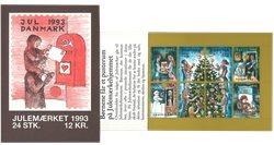 Tanska - Joulu-postimerkkivihote 1993