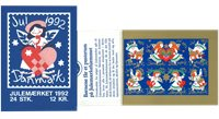 Denmark - Christmas 1992 - Mint booklet