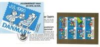Denmark - Christmas 1990 - Mint booklet