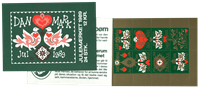 Denmark - Christmas 1989 - Mint booklet
