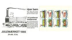 Tanska - Joulu-postimerkkivihote 1985