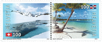 Switzerland - Joint issue w/Rep.Dom - Mint set 2v