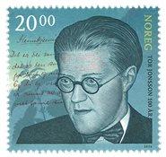 挪威邮票 2016 托尔·琼森与诗行 单枚 新邮 外国邮票 邮票收藏