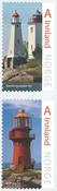 Norway - Lighthouses - Mint set 2v