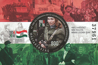 Hungary - 1956-2016 - Mint souvenir sheet