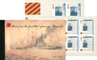 Guernesey - Histoires de la première guerre mondiale - Carnet de prestige neuf
