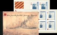 Guernsey - Historier fra Første Verdenskrig - Postfrisk prestigehæfte