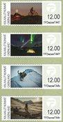 Grønland - Frankeringsmærker 2016 - Postfrisk sæt 4v