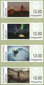 Groenland - Etiquettes d'affranchissement 2016 - Série neuve 4v