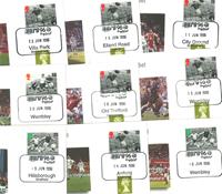 Europees kampioenschap  voetbal 1996 - 10 enveloppen