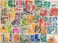 Denmark - 445 different stamps