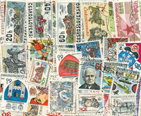 Czechoslovakia - 40 different commemorative stamps