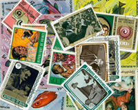 Burundi and Guinea - 37 different stamps