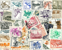 Poland - 50 different stamps