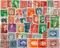 48 francobolli differenti Norvegia