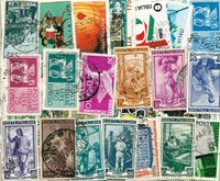 Italy - 98 different stamps
